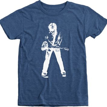 Rock and Roll Dream Boy's Tri-Blend T-Shirt