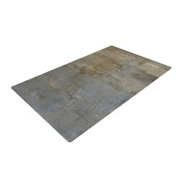 "CarolLynn Tice ""Overlooked"" Brown Gray Woven Area Rug"