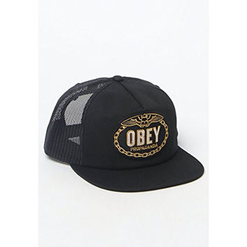 Obey Mens Chains Snapback Trucker Hat