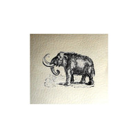 Mammoth PU Leather Print Jewelry Supplies, Jewelry Supply, Jewellery Supplies Print. Jewelry Findings, Jewelry Print Elephant Print Leather
