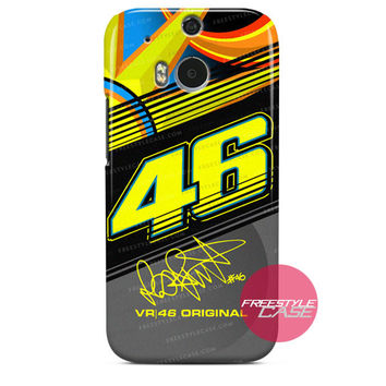 Valentino Rossi VR46 New Sun Moon HTC One M8 M7 One X Case Series