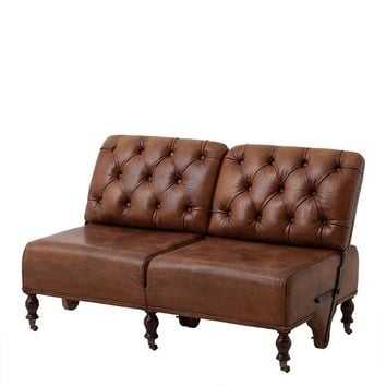Leather Sofa | Eichholtz Tete A Tete