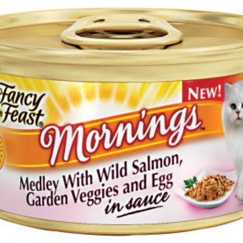 Fancy Feast Mornings Medley Salmon, Veggies & Egg 24/3 oz