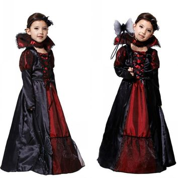 Vampire Costumes For Toddlers Halloween Outfit Black Dress