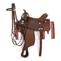 King Basic Synthetic Trail Saddle Package