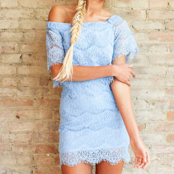 TINSLEY LACE DRESS
