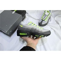 Air Max 95 Gray/Green Sneaker Shoe