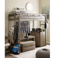 7820 Hudson Metal Loft Bed by Rachael Ray