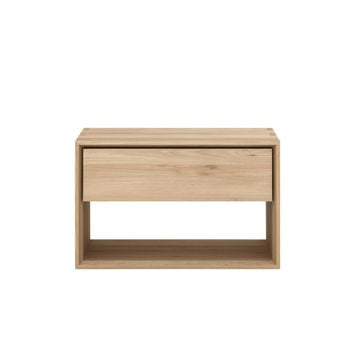 Nordic II Oak Bedside Table
