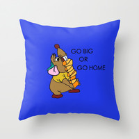 Gus Gus Throw Pillow by Jaclyn Celeste