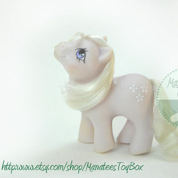 Vintage My Little Pony: Baby Blossom 80s Toy