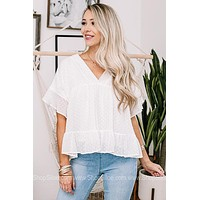 Band Of Gypsies Texture Detailed Top