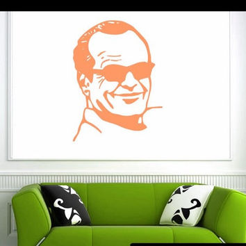 Famous Jack Nicholson Vinyl Decal | Great for Cars or Walls