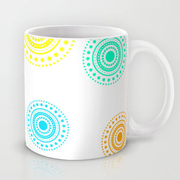 colorful circles Mug by Haroulita
