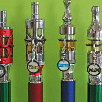 Tag your tank - Choose your Flavor Tank charm Flavor Vape Charm -  Flavor Mod charm - Flavor Ecig charm  -or - Flavor Vapor charm