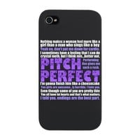 Pitch Perfect Quotes iPhone Snap Case by QuotableTV