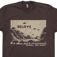 UFO T Shirt Flying Saucer T Shirts Roswell New Mexico