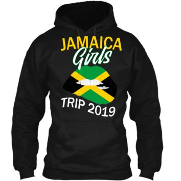 Jamaica Girls Trip 2019 T Shirt For Women Kids Pullover Hoodie 8 oz