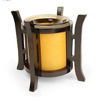 Electric Candle Warmer Wax Scent Cubes Fragrance Tart Burner Ceramic Lamp Asian