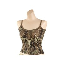 Womens Camisole - Wild Game Casual Tank Top Smokey Branch Camo -Rothco