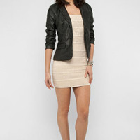 Like Leather Blazer in Black :: tobi