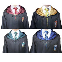 Harry Potter Robe Cloak 4 Styles Costume Kids and Adult