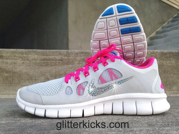 Womens Nike Free Run 5.0 Running Training from Glitter Kicks a348de1996c1
