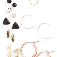 BP. Stud Earrings (Set of 9) | Nordstrom