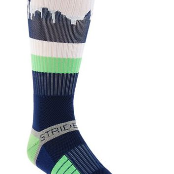 Men's STRIDELINE 'Seattle Seahawks - Seatown' Socks - Blue