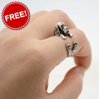 Cuddly Boston Terrier Ring