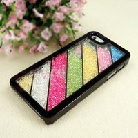 ZLYC Colorful Dancing Diamond Case for iPhone 5