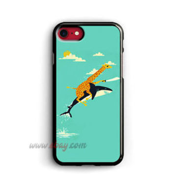 Pirate Giraffe iPhone Cases Riding Shark Samsung Galaxy Phone Cases iPod cover