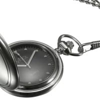 Visol Lux Stainless Steel Personalized Pocket Watch