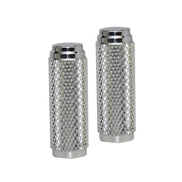 Harley Toe Peg Set Polished Aluminum