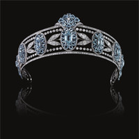 Belle Epoque Aquamarine and Diamond Tiara, Circa 1910 | lot | Sotheby's