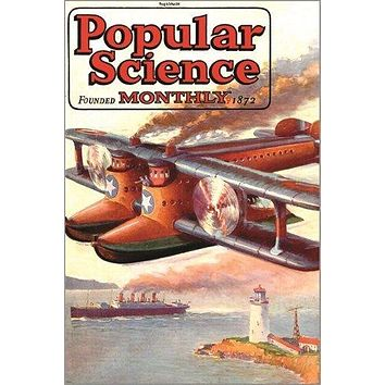 vintage magazine cover poster POPULAR SCIENCE monthly 1872 COLLECTORS 24X36
