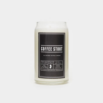 Coffee Stout Beer Candle