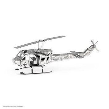 Fascinations Metal Earth 3D Metal Model Kit - Huey UH-1 Helicopter (MMS011)