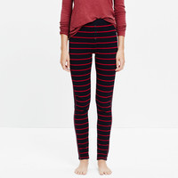 Striped Sleep Leggings