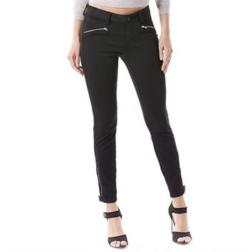 Level 99 Riley Moto Skinny Jeans - Women's