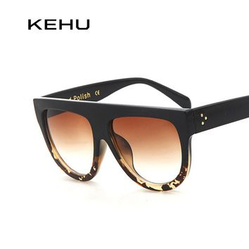 KEHU Woman Flat Top Sunglasses
