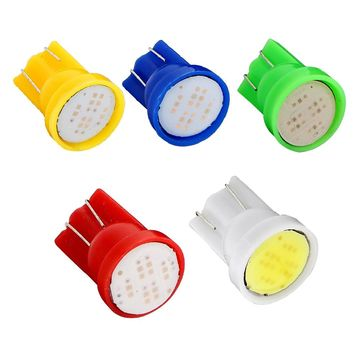 Yushuangyi 100pcs/lot T10 COB 2W LED Car Led Interior Light Bulbs Reading Lamp Dashboard Lights
