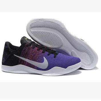 Men Kobe XI Weave Nike Basketball Grender Shoe Gradient Purple