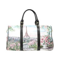 Paris Eiffel Tower Waterproof Travel Bag