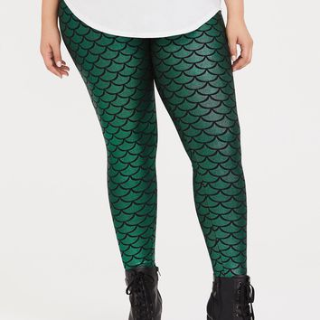 Halloween Mermaid Leggings