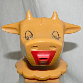 Vintage 1960s Cow Creamer Whirley Industries