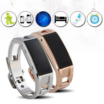 D8 Smart Bluetooth Bracelet Watch syncs with your Smart Phone