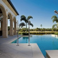 Outdoor shower ARCH COLUMN by Bossini