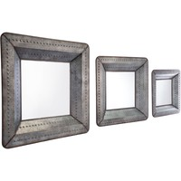 Antique Wall Mirrors (Set of 3)