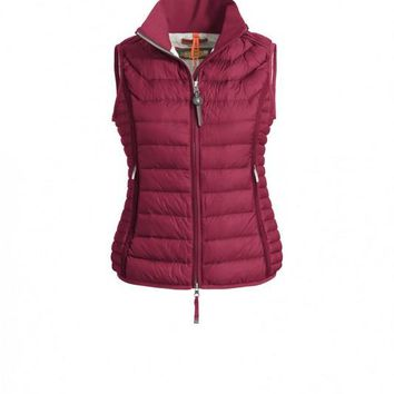 PARAJUMPERS NEW Fashion rose Red DODIE down vest(women)